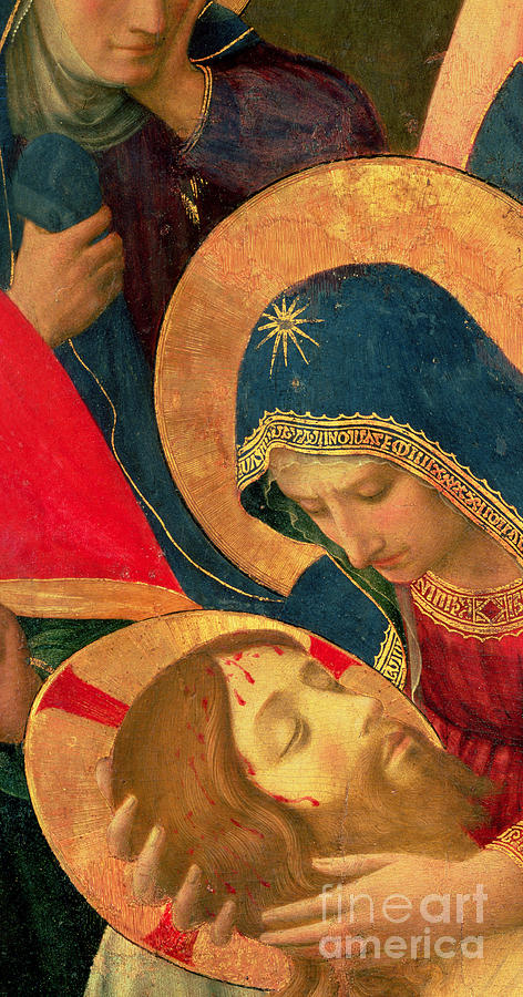 Christ Painting - Deposition From The Cross by Fra Angelico