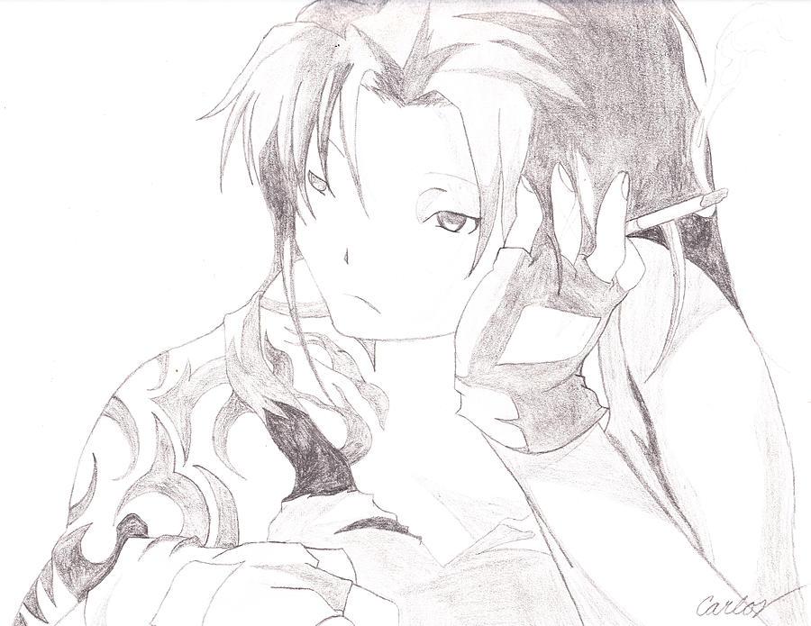Depression Drawing by Carlos Hyman