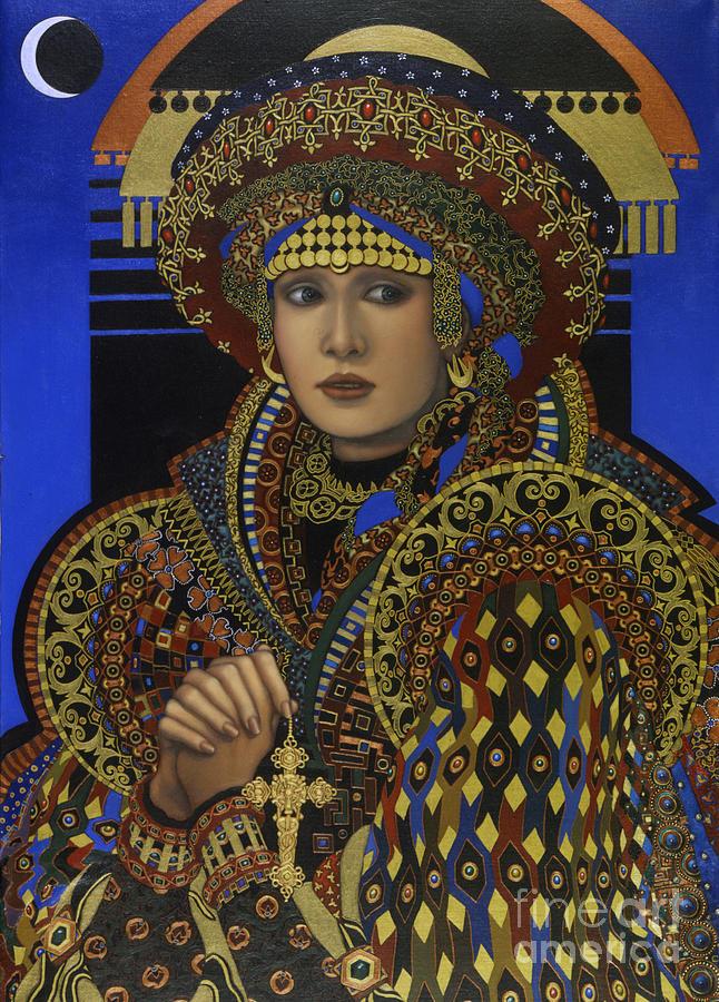 Desdemona Painting - Desdemona by Jane Whiting Chrzanoska
