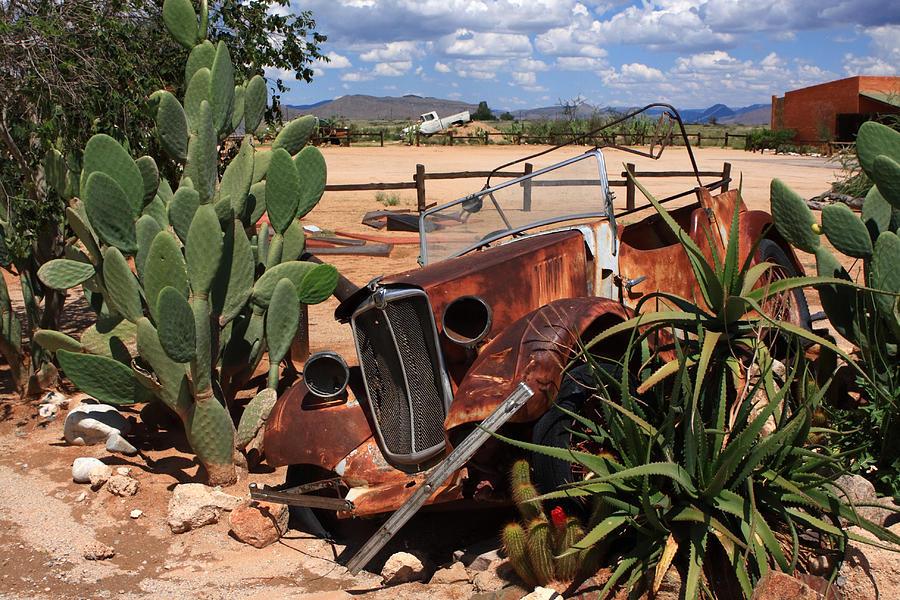 Vintage Car Photograph - Desert Classic by Aidan Moran
