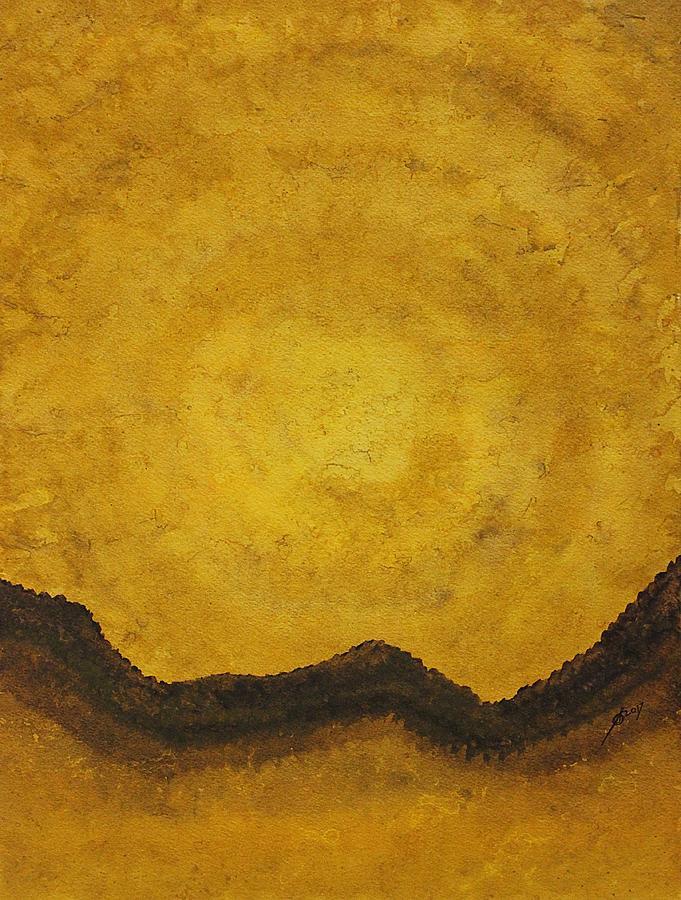 Desert Daybreak Original Painting Painting