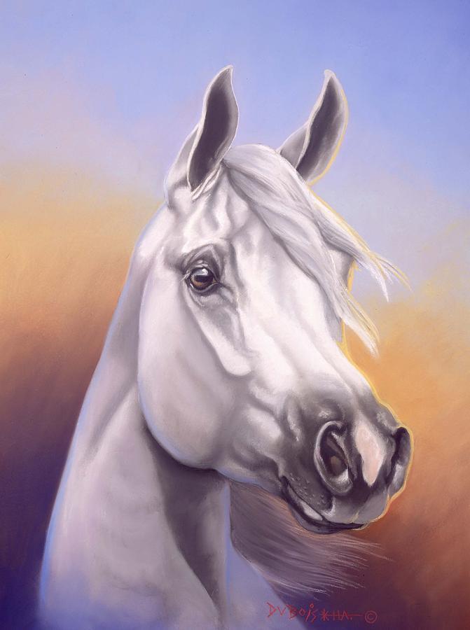 Arabian Painting - Desert Prince by Howard Dubois