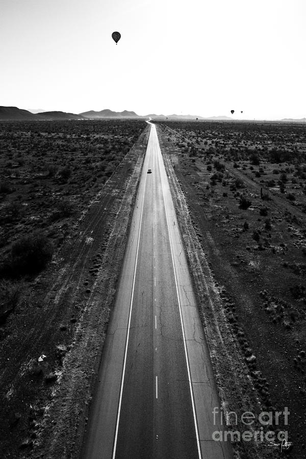 Desert Road Photograph