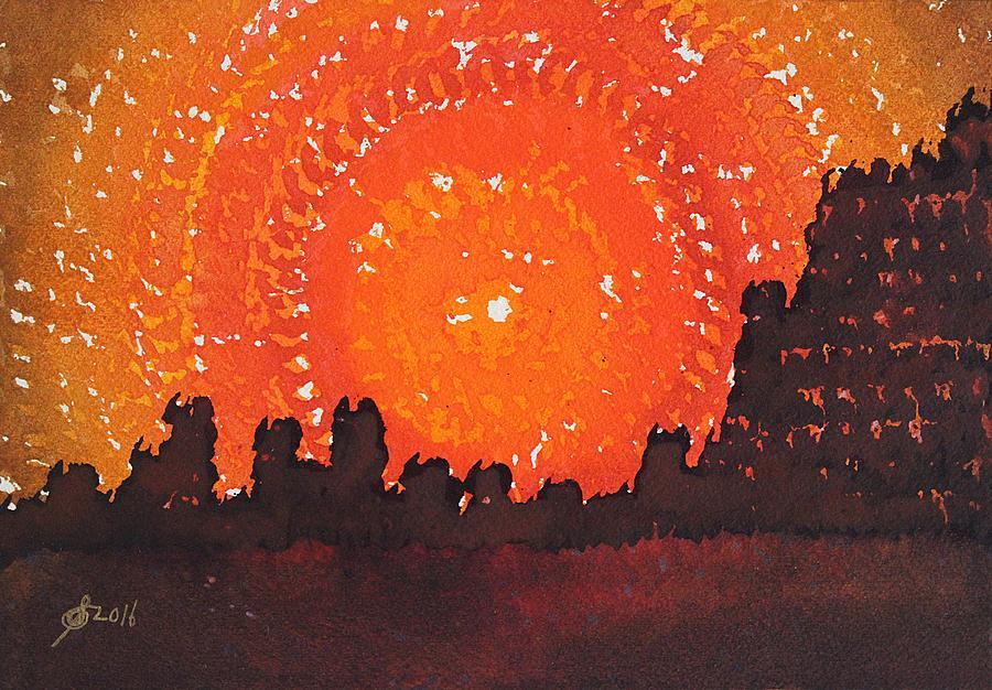 Desert Solstice Original Painting Painting