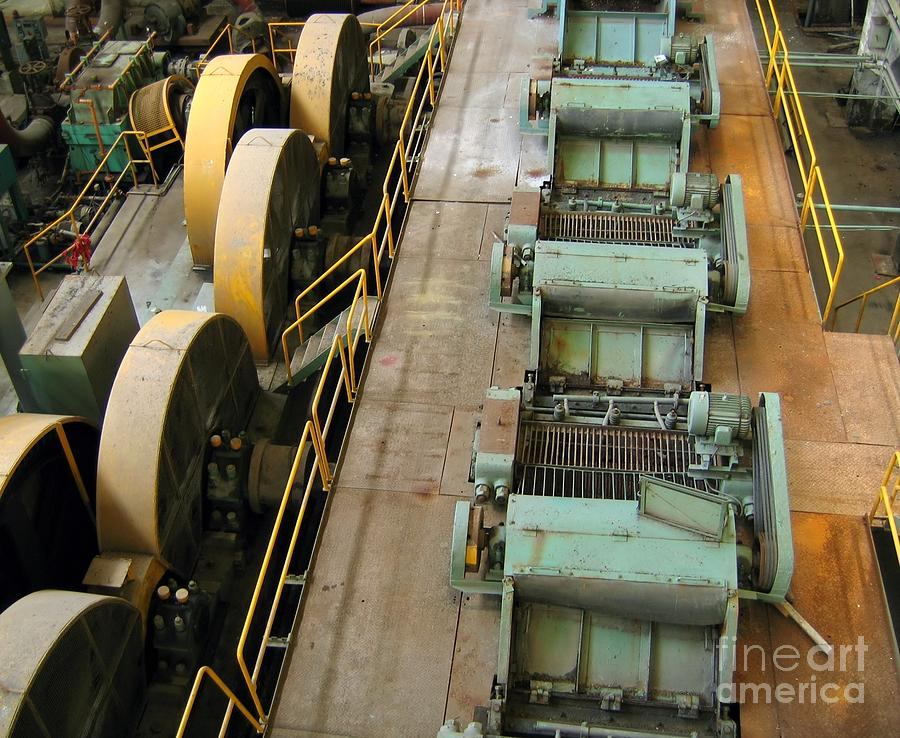 Factory Photograph - Deserted Factory by Yali Shi