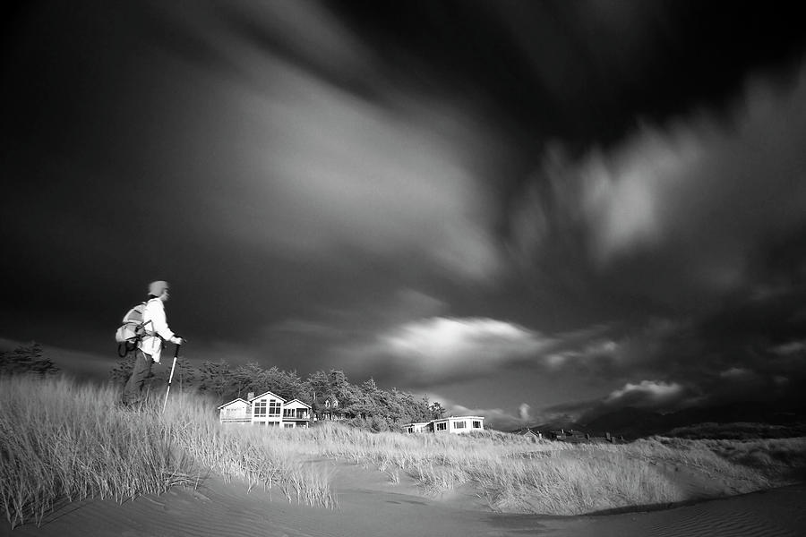 Infrared Photograph - Destination by William Lee