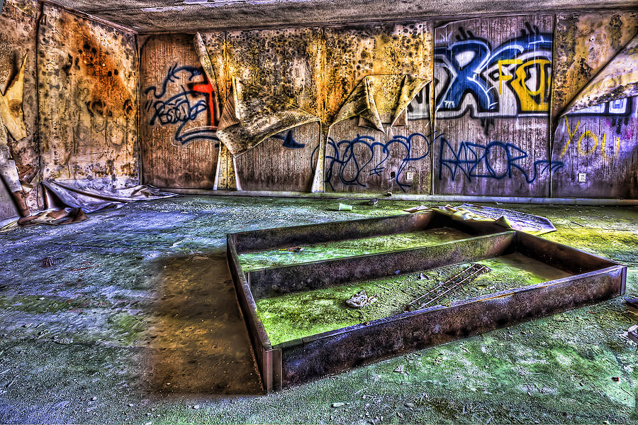 Abandoned Photograph - Destroya by Evelina Kremsdorf