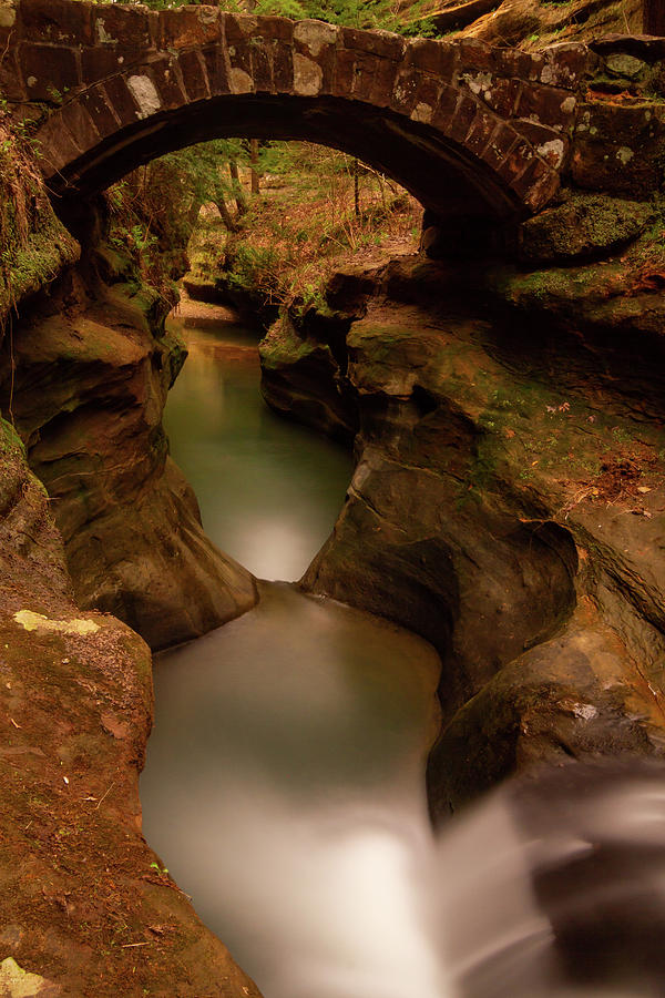 Devils Bathtub Hocking Hills Photograph