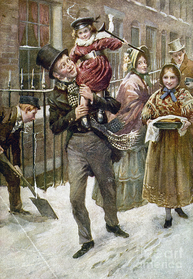 1920 Painting - Dickens: A Christmas Carol by Granger