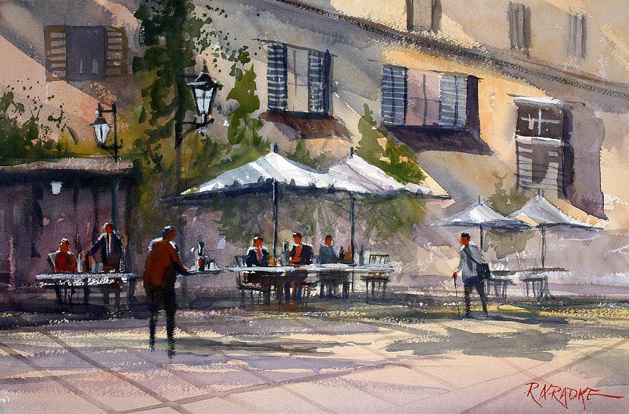 Dining Alfresco Painting