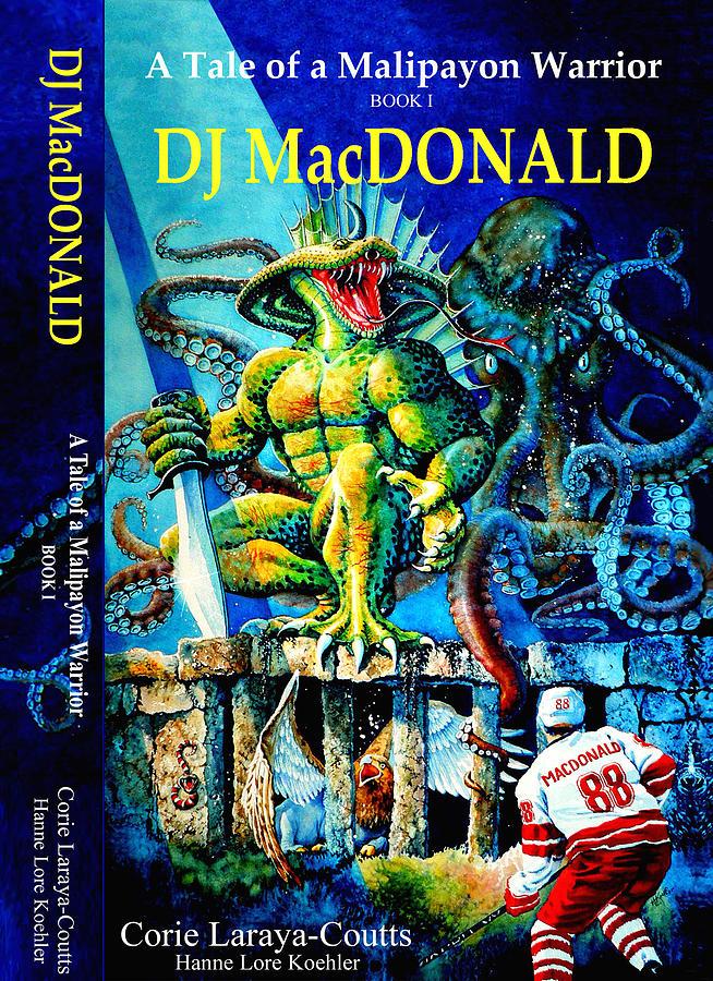 Dj Macdonald Painting - Dj Macdonald Book Cover by Hanne Lore Koehler
