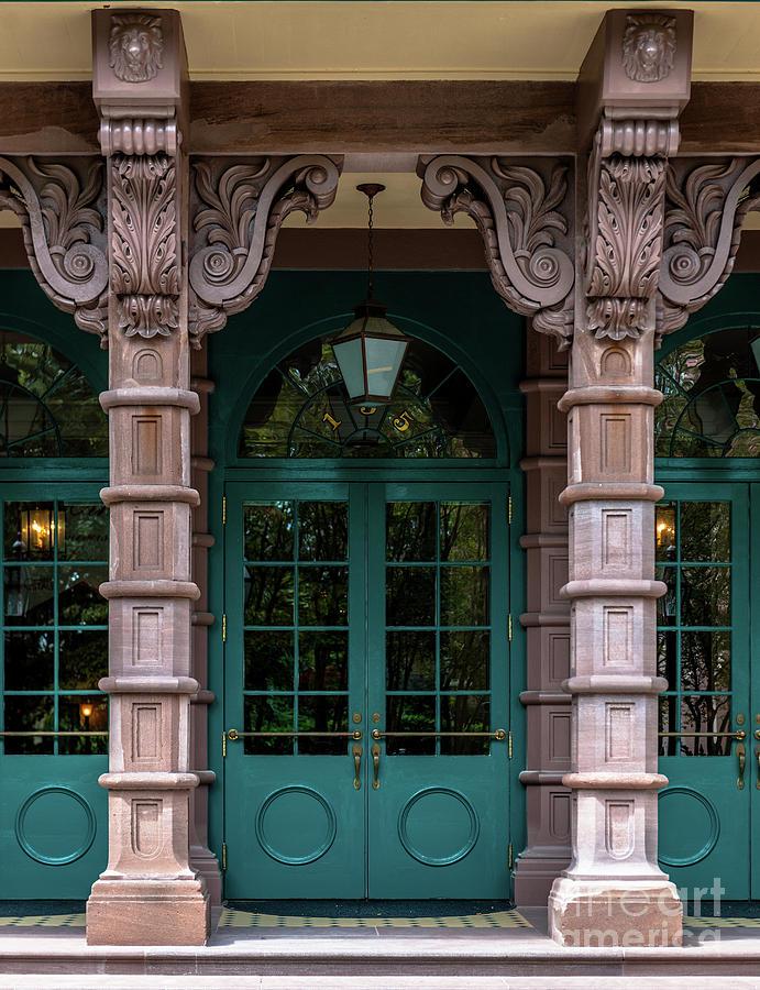 Dock Street Columns Photograph