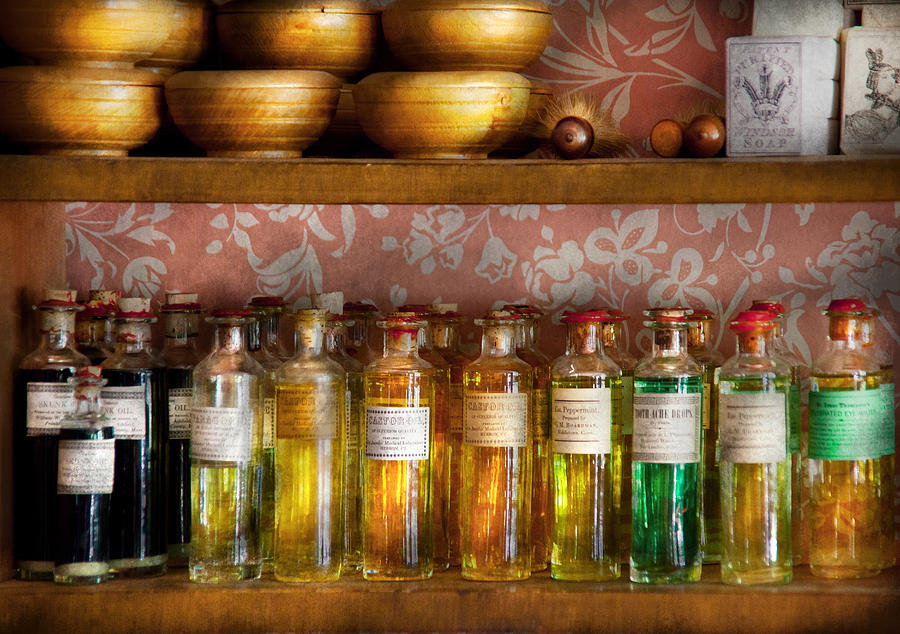 Hdr Photograph - Doctor - Colorful Cures  by Mike Savad