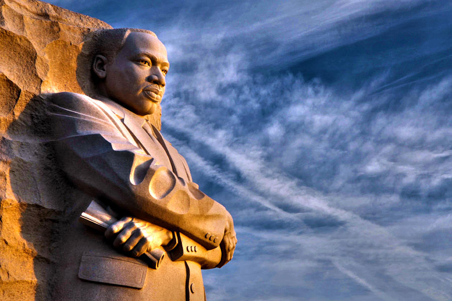 Martin Luther King Photograph - Doing For Others by Mitch Cat