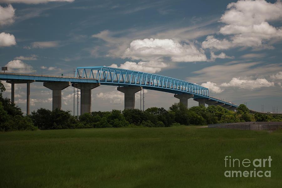 Don Holt Three Span Continous Bridge Photograph