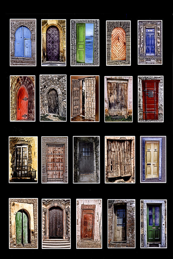 Doors Photograph - Doors Of The World by Rianna Stackhouse