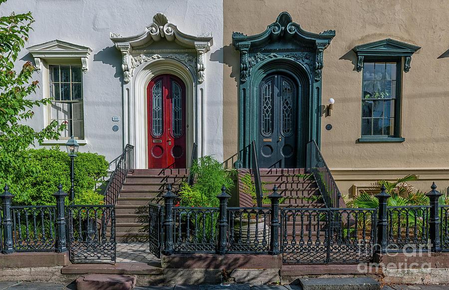 Doors On Bull Street Photograph