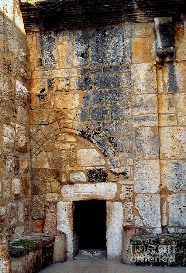 Doorway Church Of The Nativity Photograph
