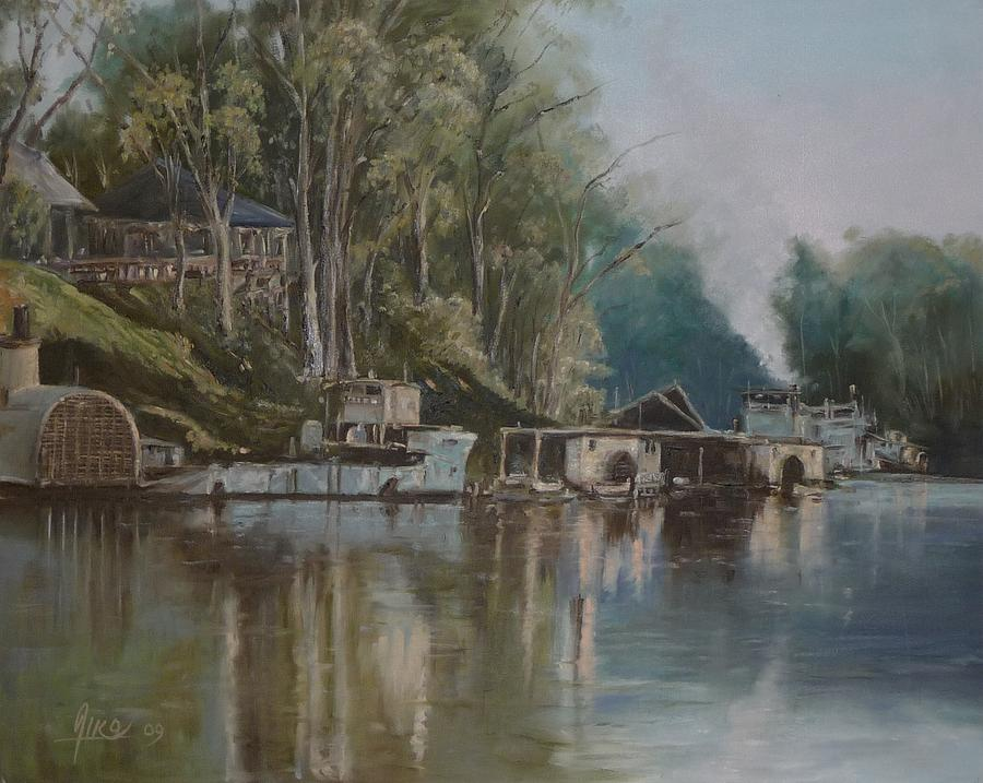 Down By The River Painting