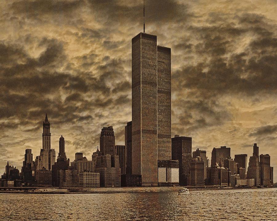 Manhattan Photograph - Downtown Manhattan Circa Nineteen Seventy Nine  by Chris Lord