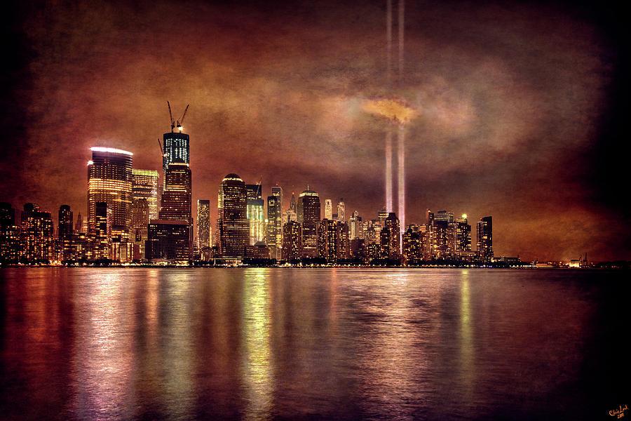 Downtown Manhattan September Eleventh Photograph