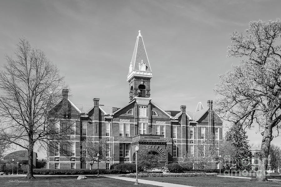 Des Moines Photograph - Drake University Old Main by University Icons