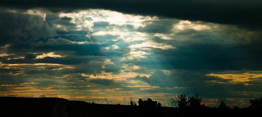 Drakensberg Photograph - Drakensberg Evening by Joe Houghton