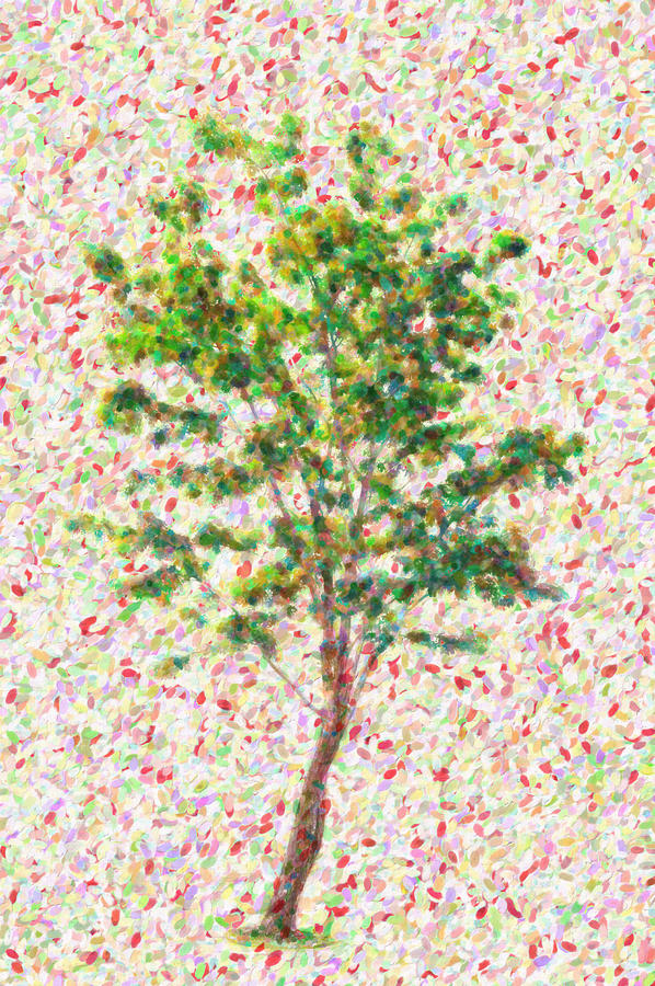 Tree Painting - Dream Argument by Taylan Soyturk
