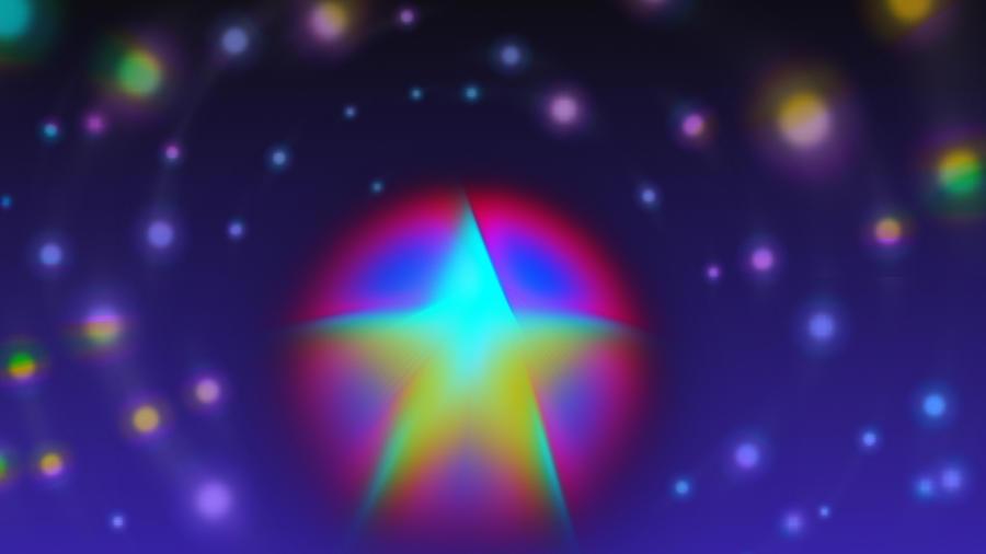 Dream Like A Super Star Digital Art