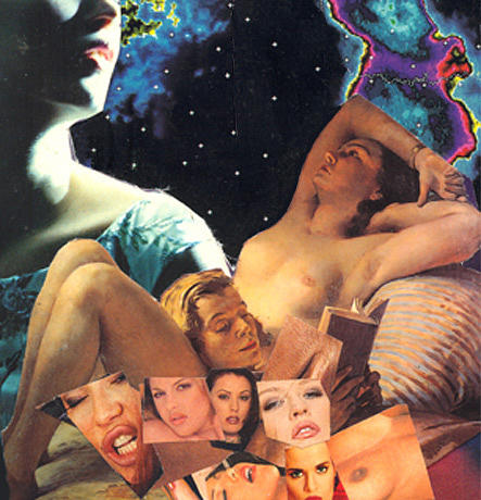 Collage Mixed Media - Dreaming by Michal Rezanka