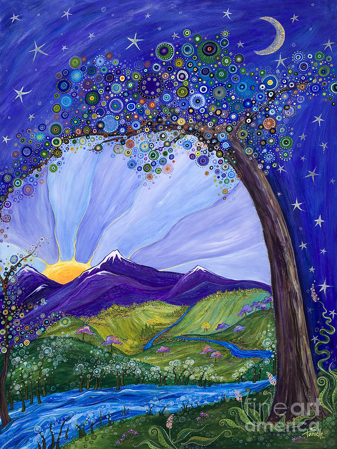 Dreaming Tree Painting