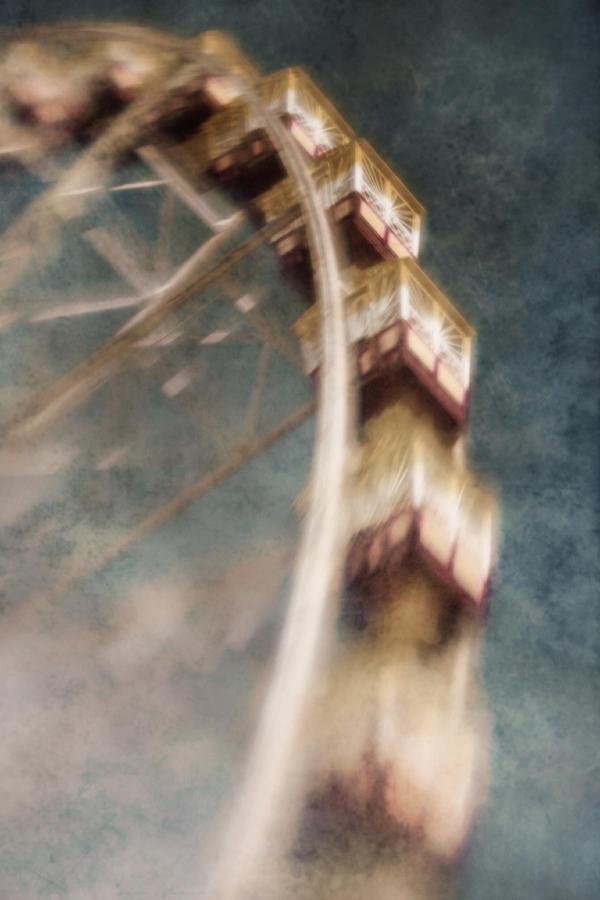 Ferris Wheel Photograph - Dreamscape by Andrew Paranavitana