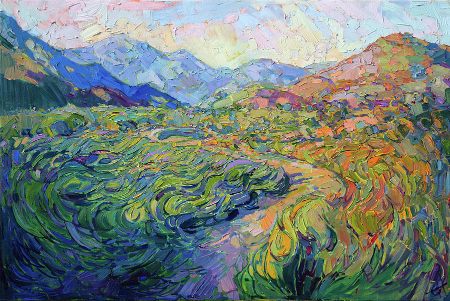 Dreamscape Painting By Erin Hanson