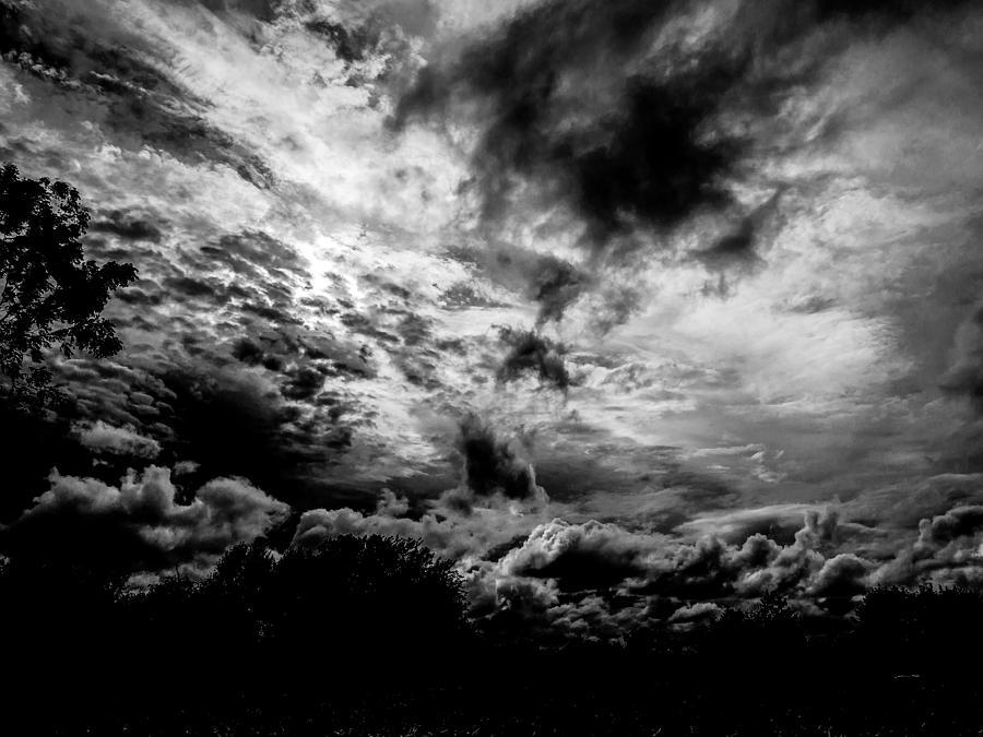 Dreamy Clouds Photograph by Louis Dallara