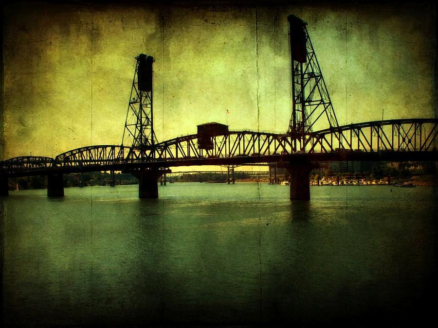 Driving Over The Bridge Photograph