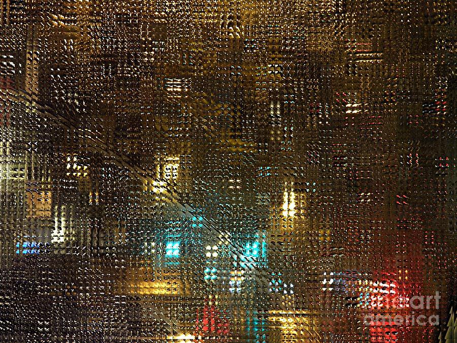Driving Rain Photograph - Driving Rain by Sarah Loft