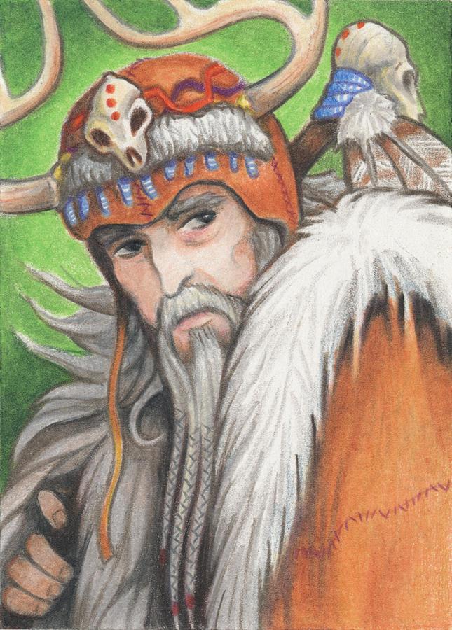 Druid Priest Drawing