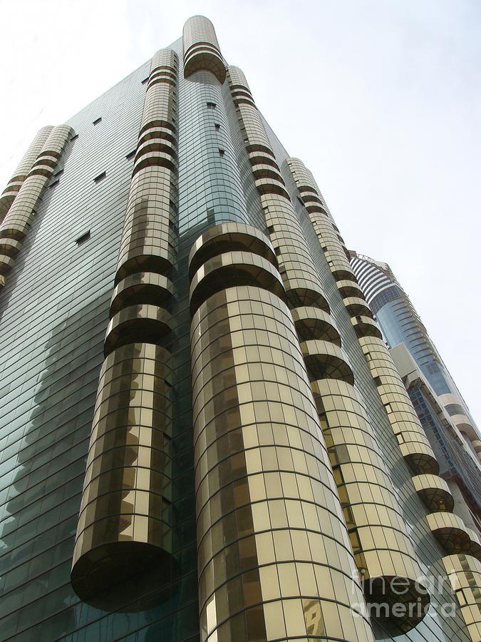 Dubai Photograph - Dubai Building 01 by Mike Holloway