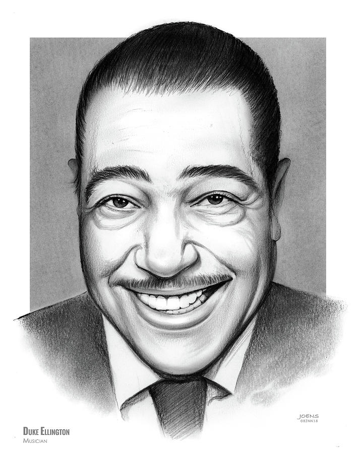 Duke Ellington 2 Drawing