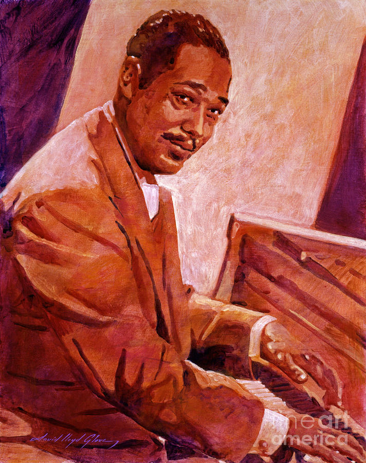 Duke Ellington Painting - Duke Ellington by David Lloyd Glover