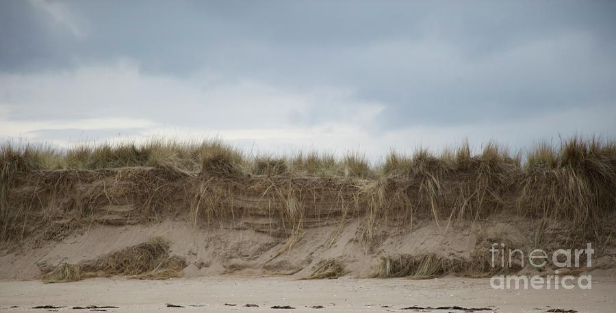 Dunes At Tentsmuir Against A Painterly Sky Photograph