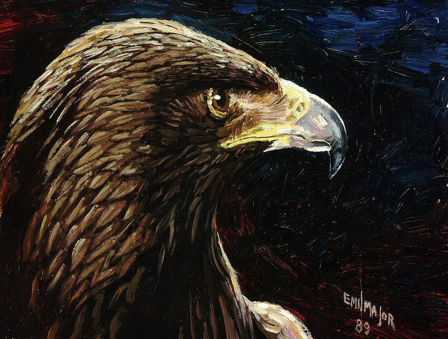 Eagle Profile Painting