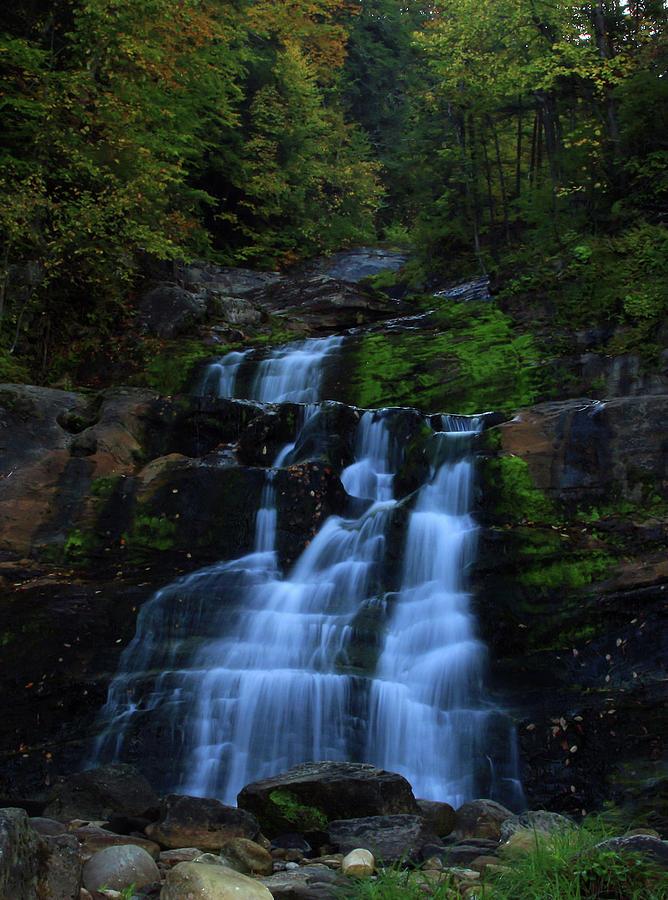 Waterfalls Photograph - Early Morning Falls by Karol Livote