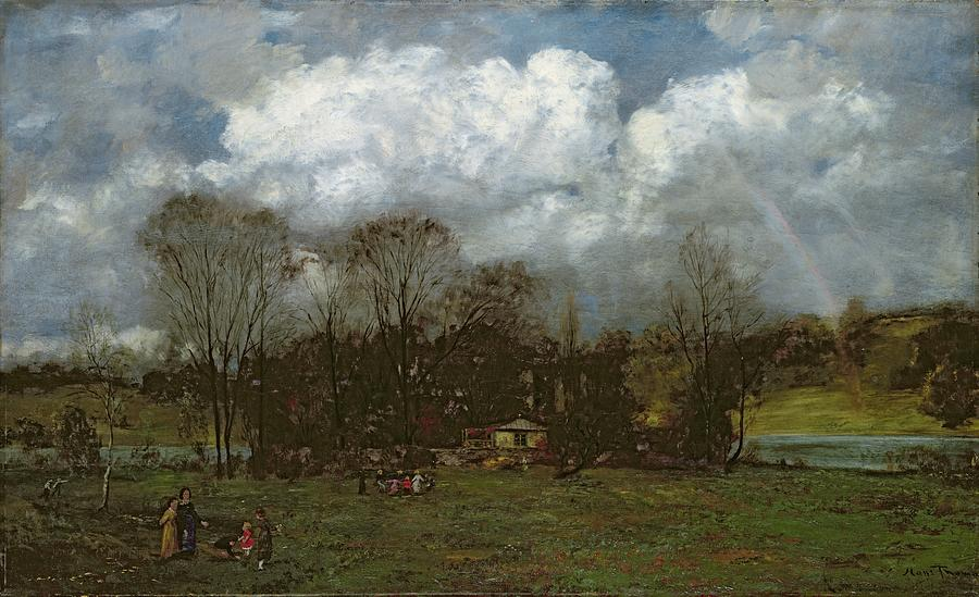 Early Painting - Early Spring by Hans Thoma