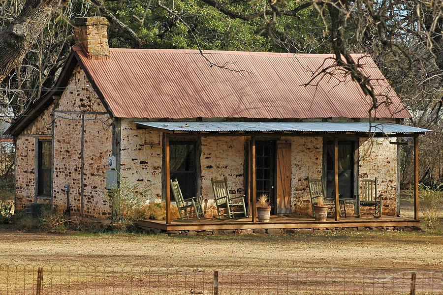 early texas farm house photograph by robert anschutz