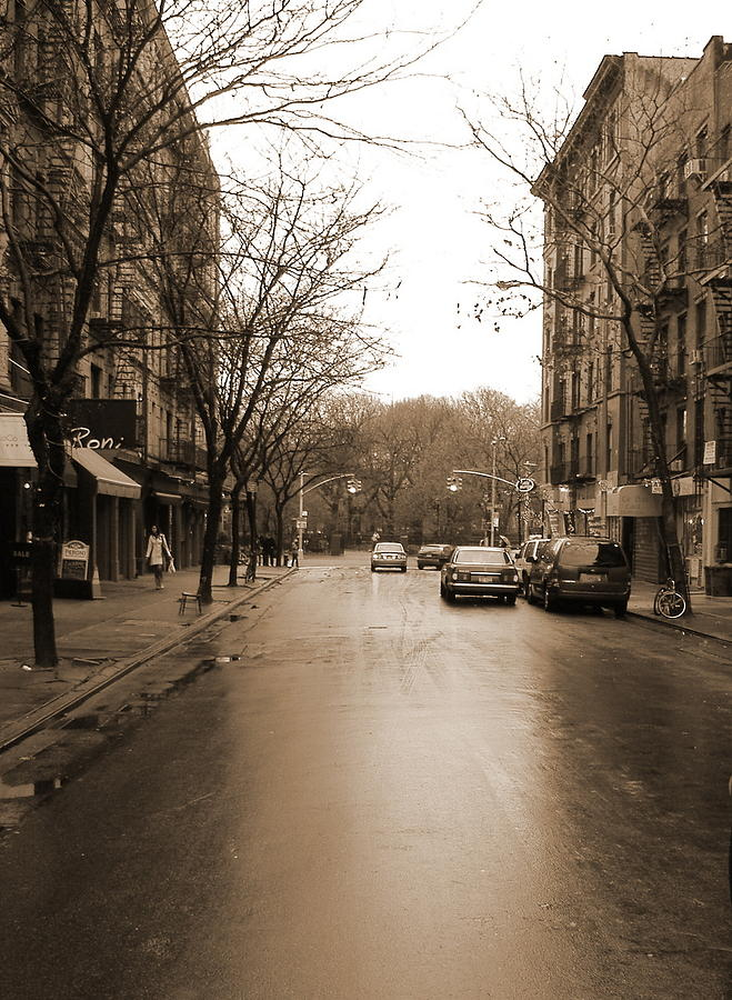 East Village In Winter Photograph by Utopia Concepts