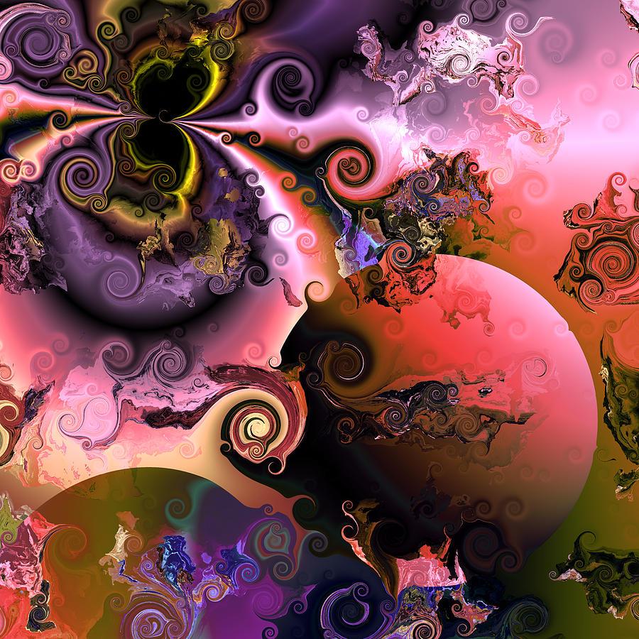 Ebullient Color Photograph