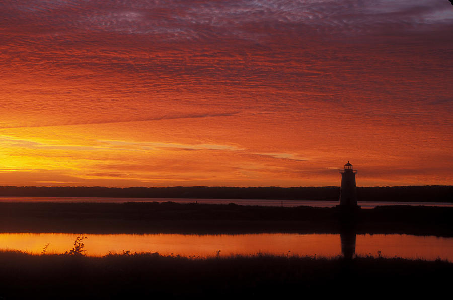 Edgartown Lighthouse Sunrise Photograph