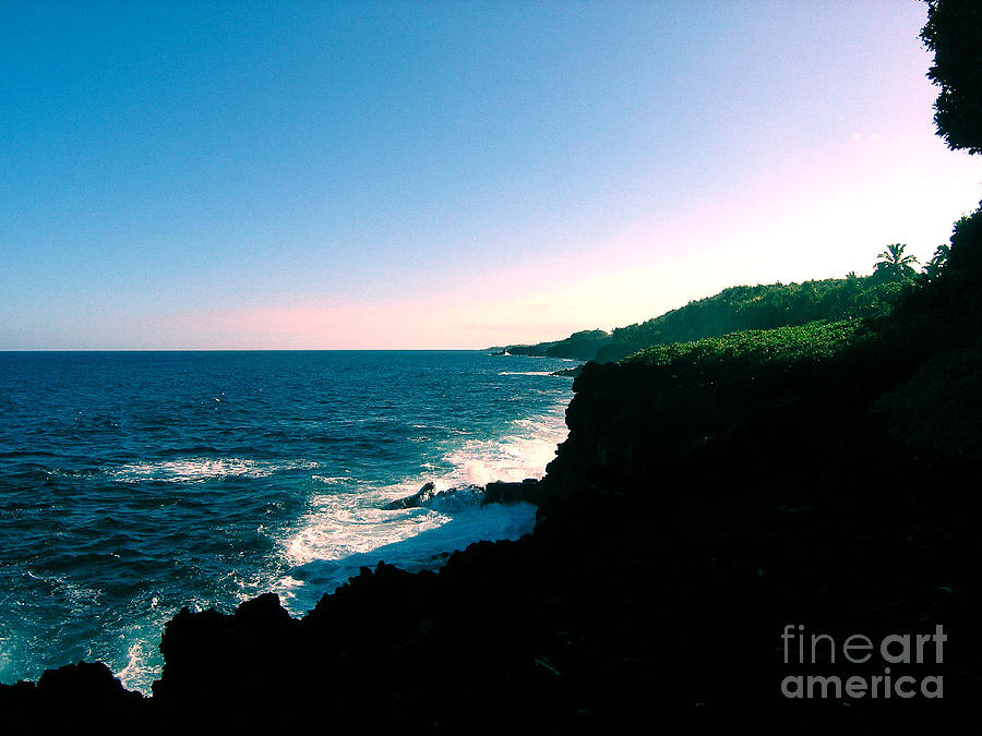 Hawaii Photograph - Edge Of The World by Silvie Kendall