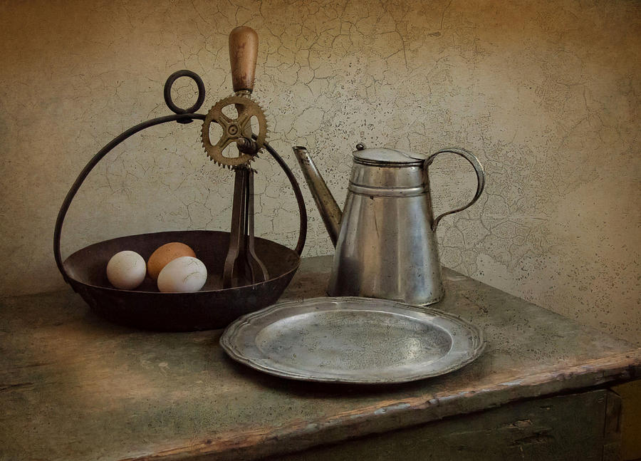 Eggs Photograph - Egg Beaters by Robin-lee Vieira